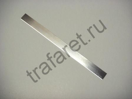 Ракельный нож 0.45 x 18 x 350 мм
