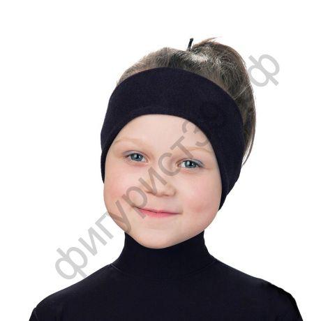 Термоповязка на голову флис