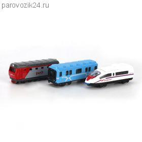 """Набор из 3 поездов """"Транспорт"""", 7.5 см"""