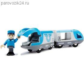 """Игровой набор """"Поезд-экспресс с машинистом"""""""