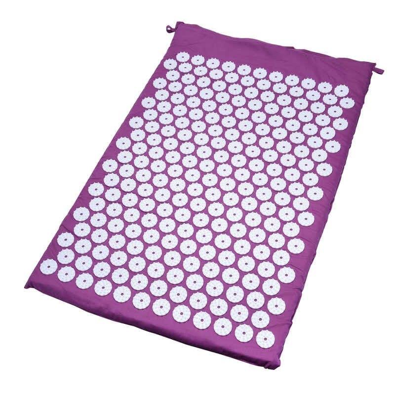 Массажный акупунктурный коврик Acupressure Mat, фуксия