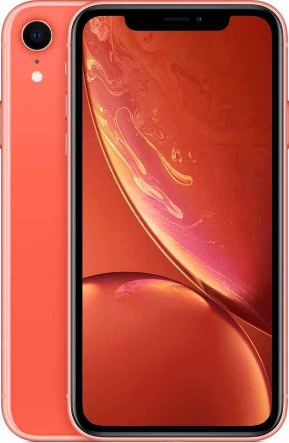 Смартфон APPLE iPhone XR 64Gb, корраловый