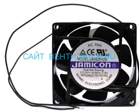 Вентилятор 80x25 220V JAMICON JA0825H2B010N-L-R