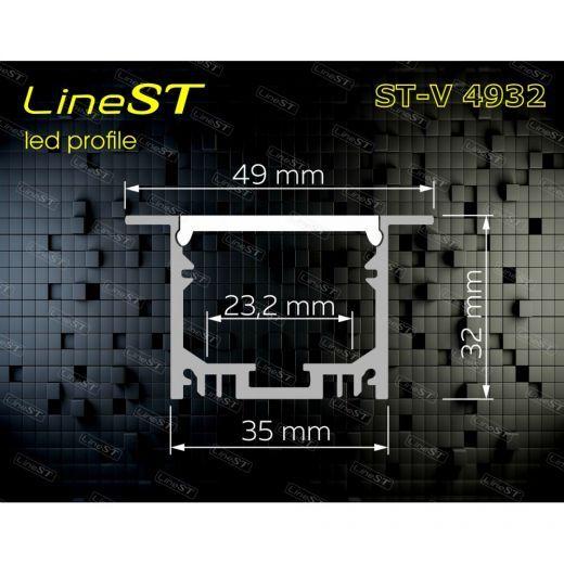 Встраиваемый профиль ST-V4932