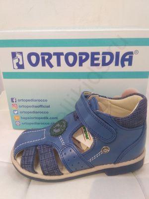 708 Ortopedia Сандалии (26-30) в синем цвете