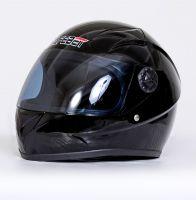 Шлем интегральный черный глянец вид 2