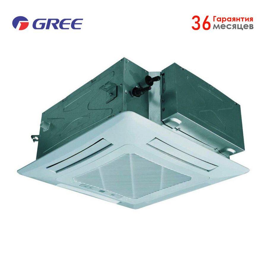"""GREE U-MATCH II (56 """"куб"""") GU160T/A1-K/GU160W/A1-M, Кондиционер кассетный"""