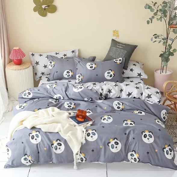 Детское постельное белье Панда-король
