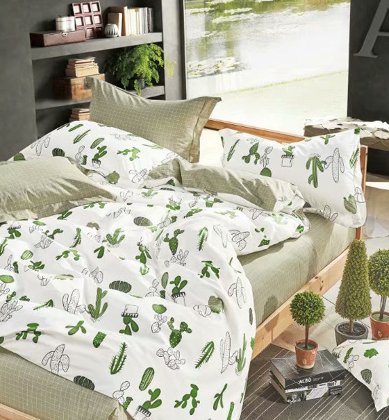 Детское постельное белье Кактусы