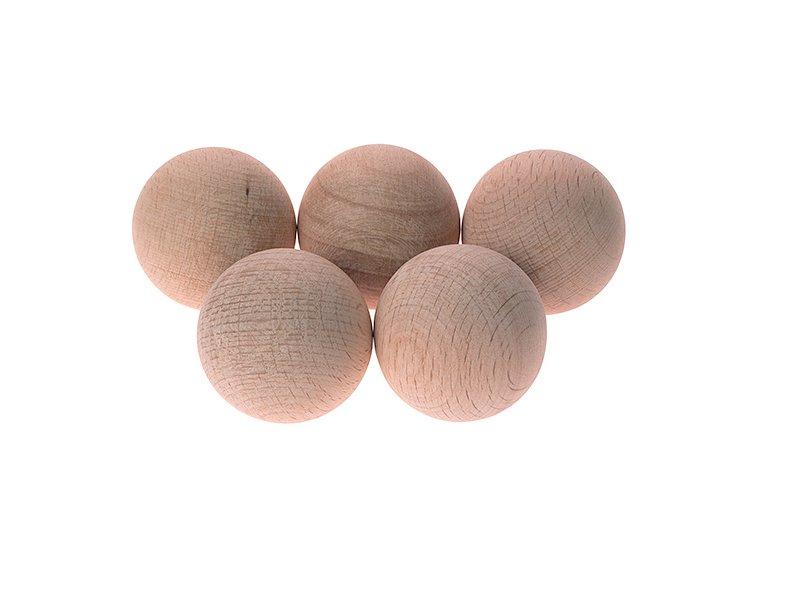 Мяч хоккейный  деревянный