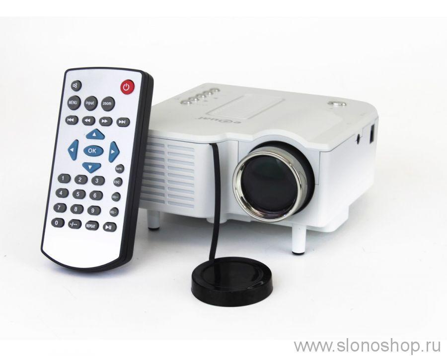 Карманный проектор Excelvan UC28