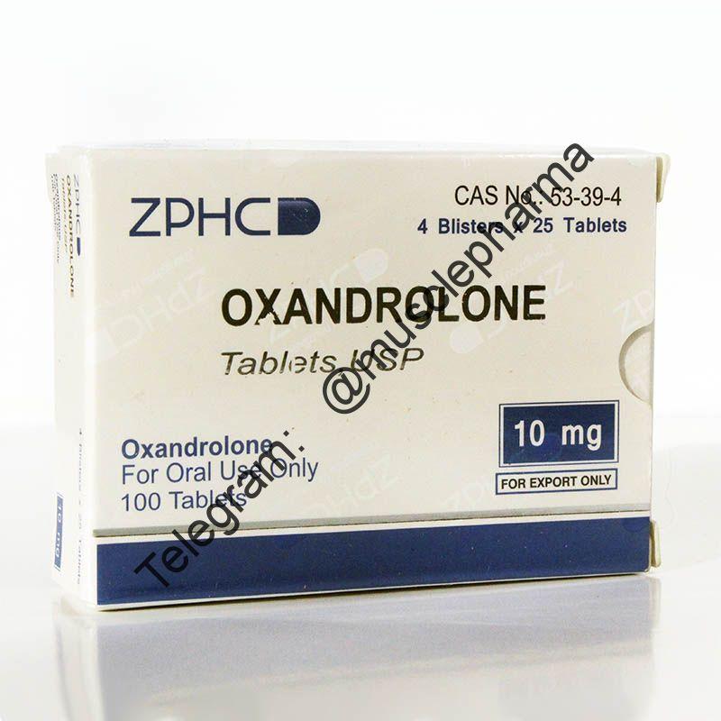 OXANDROLONE (ОКСАНДРОЛОН). ZPHC. 25 таб. по 10 мг.