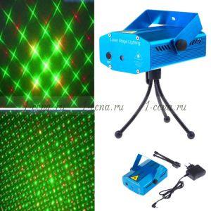 Лазерный проектор Laser Stage Lighting mini