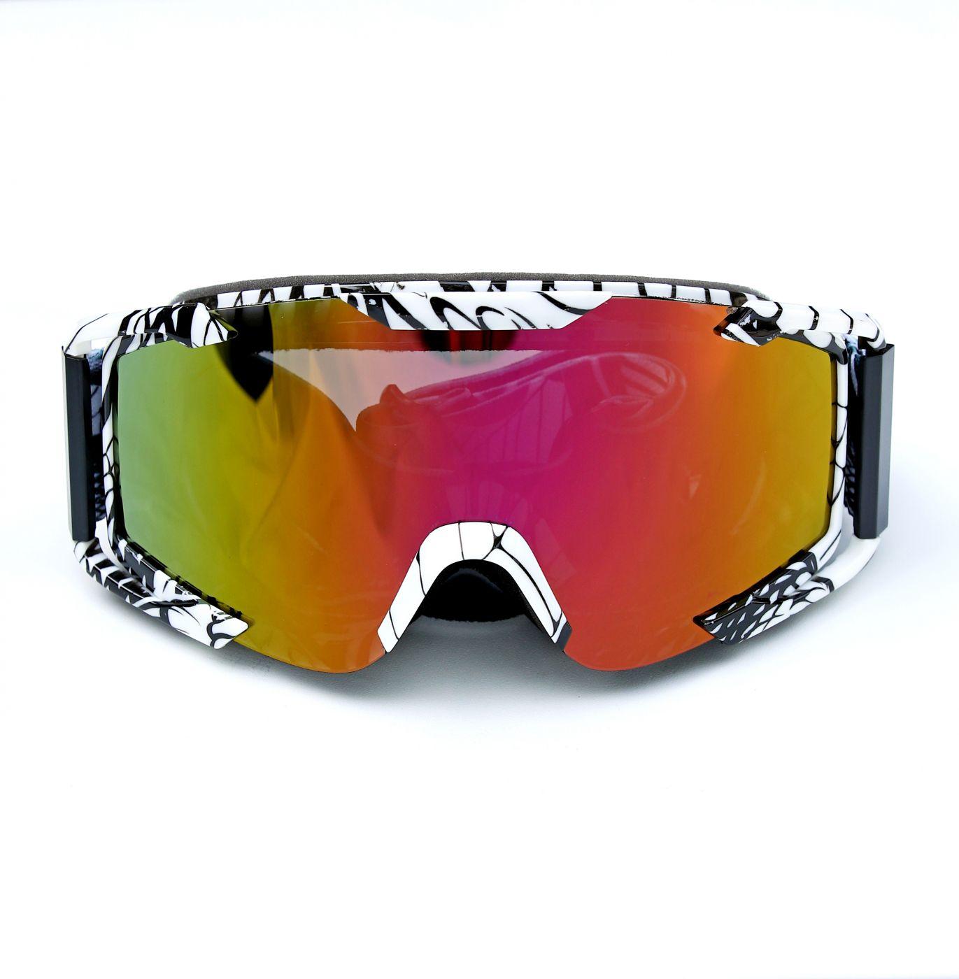 Очки для мотоциклистов Black-White