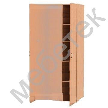 Шкаф комбинированный гардероб + полки