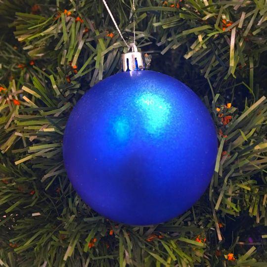 Восхитительный комплект (24 шт) новогодних шаров для елки