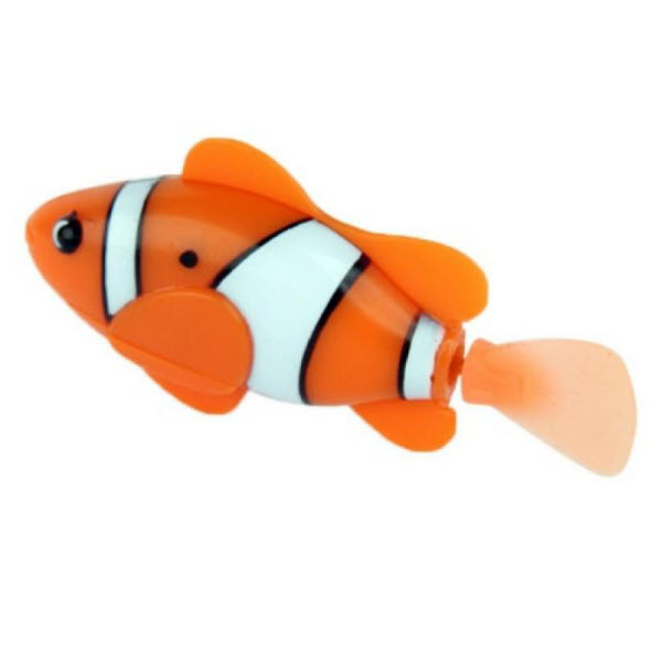 Роборыбка Robofish Клоун интерактивная игрушка (Цвет: Оранжевый)