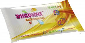 ТМ «Discount» Extra 15 с экстрактом календулы и витамином Е