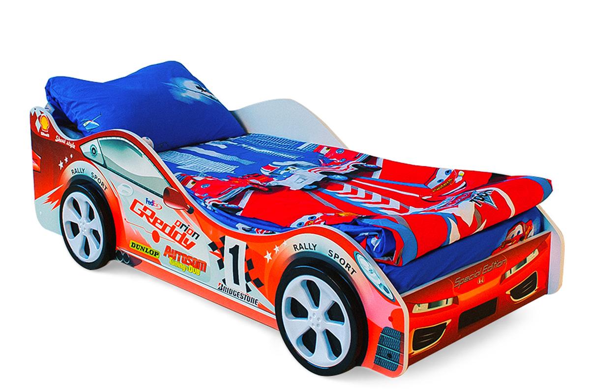 Детская кровать-машина Стрела
