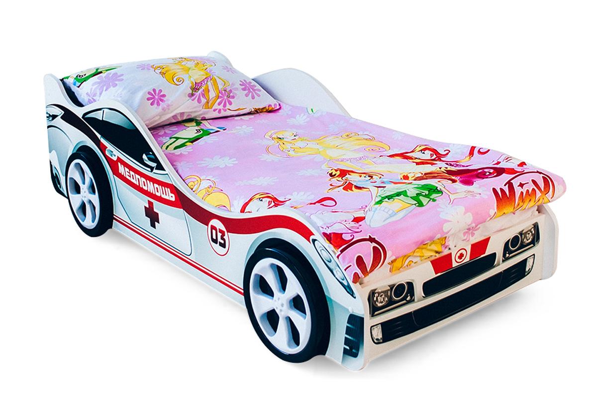 Детская кровать-машина Медпомощь