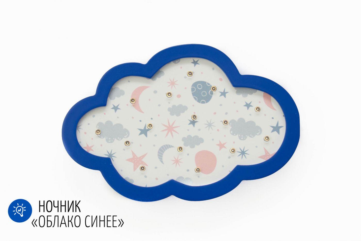 Детский светодиодный ночник Облако