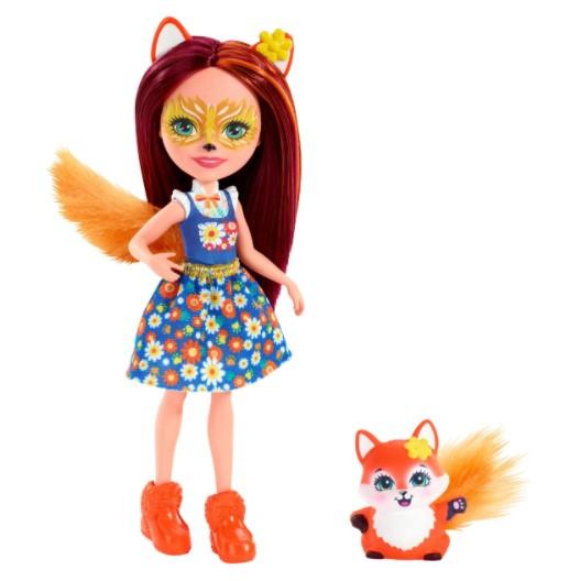 Кукла Enchantimals со зверюшкой в ассортименте