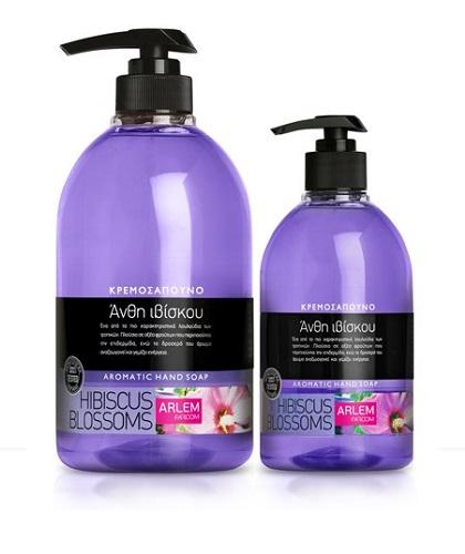 Жидкое мыло для рук с ароматом Гибискуса (флакон с дозатором), 1000 мл