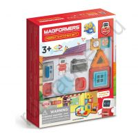 Магнитный конструктор MAGFORMERS 705010 Minibot's Kitchen Set