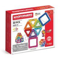 Магнитный конструктор MAGFORMERS 701005 Набор 30/Rainbow