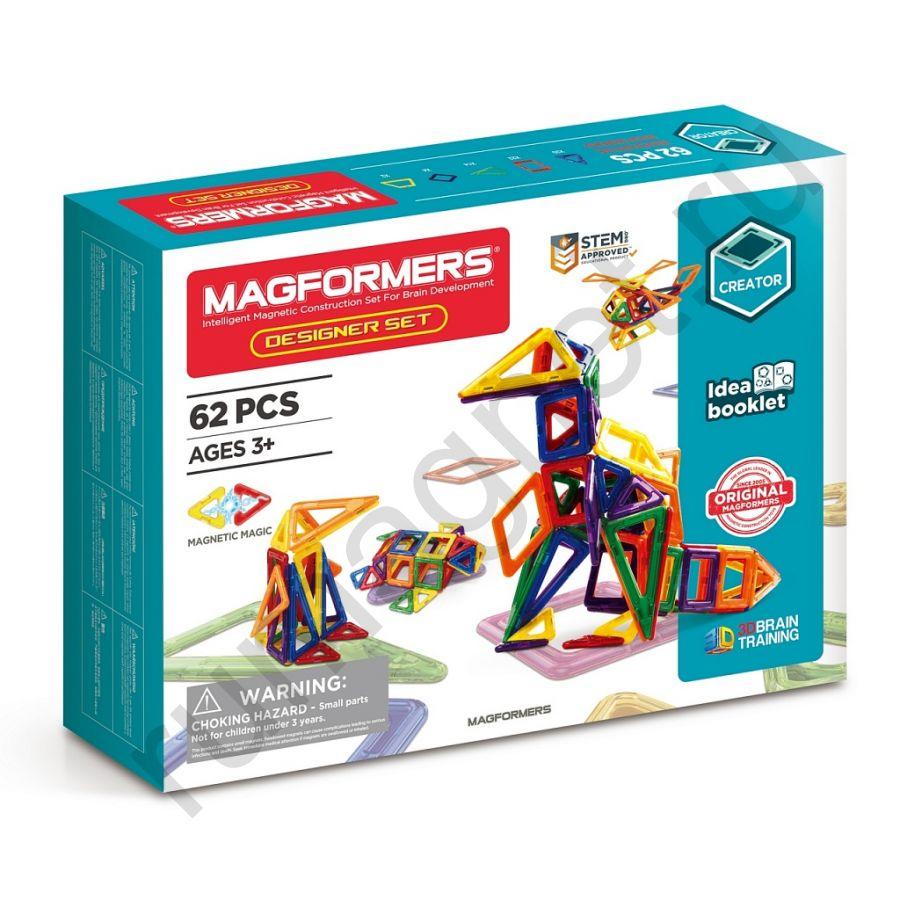 Магнитный конструктор MAGFORMERS 703002 Дизайнер сет