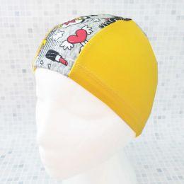 Комиксы Текстильная шапочка для плавания
