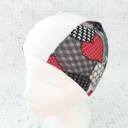 Сердца Текстильная шапочка для плавания