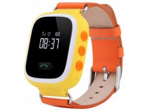 Умные детские часы с GPS Smart Baby Watch Q60S желтые