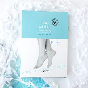 The Saem Dear My Foot Power Peeling