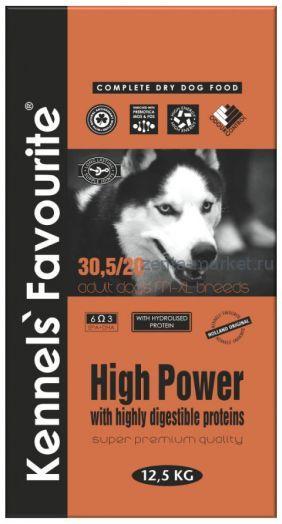 Kennels` Favourite Hight Power Для активных собак 20 кг.
