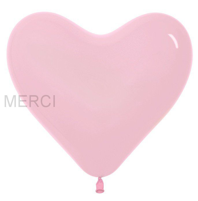 БОЛЬШОЕ СЕРДЦЕ розовый