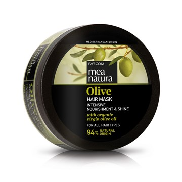 Mea Natura Olive, Маска для всех типов волос, 250 мл