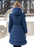 приталенный фасон женского пальто
