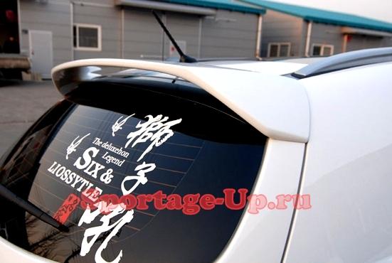 Задний спойлер для KIA Sportage3, чёрный, Китай
