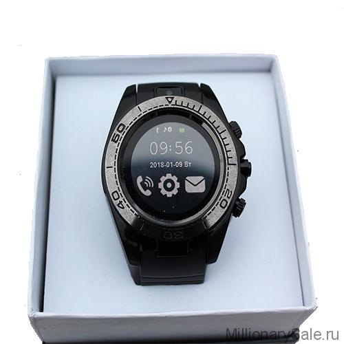 Умные часы UWatch SW007, черный