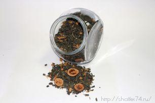 """Чай зелёный """"Гуава"""" ароматезированный 100гр."""