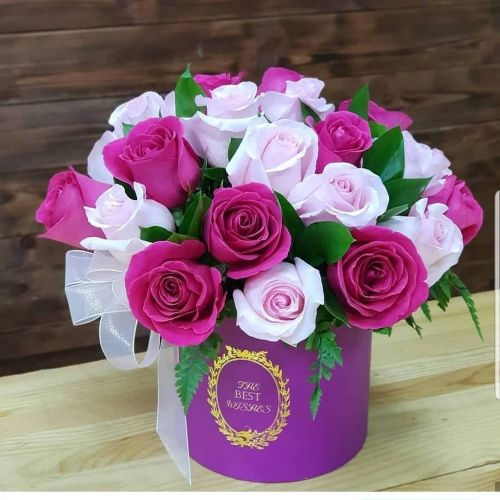 """Коробка цветов """"Вкус любви"""""""