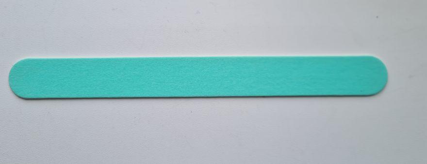 Пилка для натуральных ногтей (неоново-зеленая)