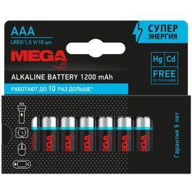 1188300  Батарейки Promega мизинчиковые ААA LR03 (10 штук в упаковке)