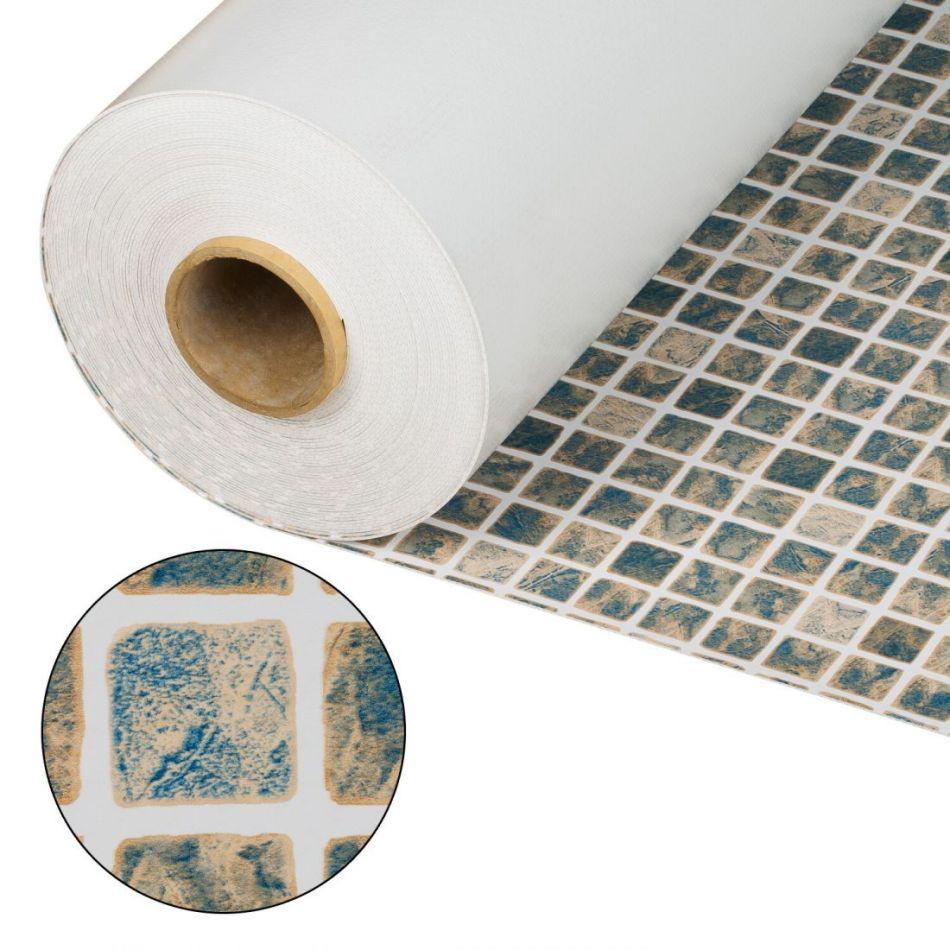 Лайнер Cefil мозаика песочная Mediterraneo Sable 1.65x25.2 м