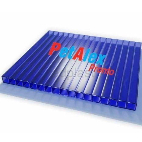 Сотовый поликарбонат Pronto 8 мм (синий)