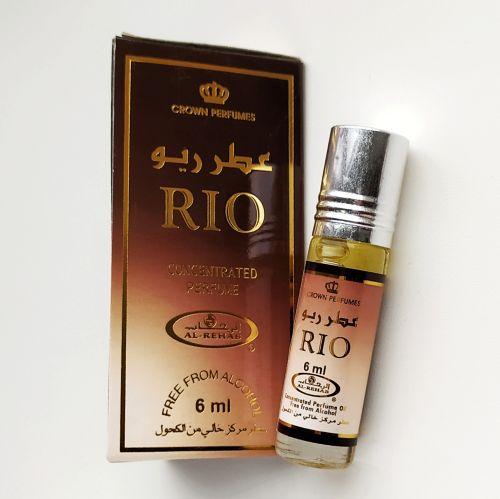 Арабские масляные духи Rio   Рио   6 мл   Al-Rehab   Мужской