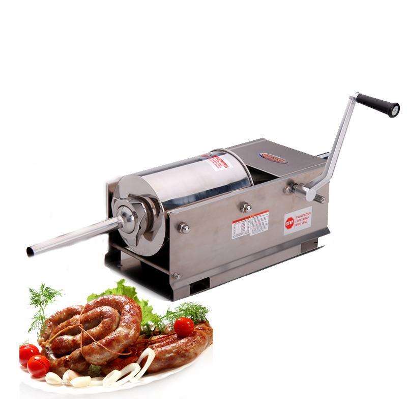 Профессиональный шприц колбасный горизонтальный 5 Л