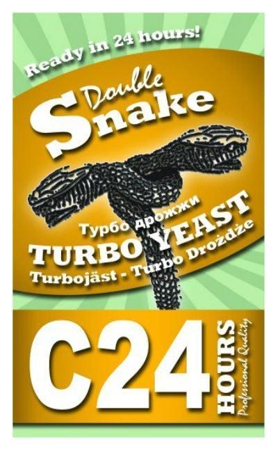 Турбо-дрожжи DoubleSnake C24 на 25 л