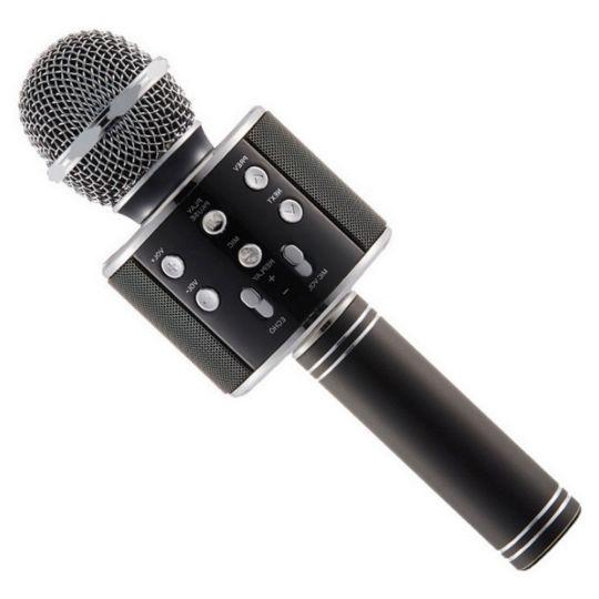 Караоке микрофон WS-858, черный